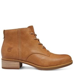 NEW 8 Timberland Damen Brown Leather Boots